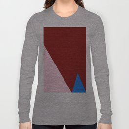Blue Triangle Long Sleeve T-shirt