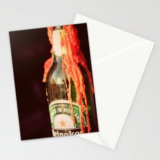 Candle wax in a Bottle Stationery Cards