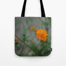 Blooming Orange Tote Bag