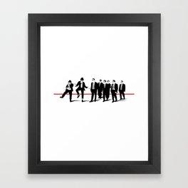 Reservoir Brothers Framed Art Print