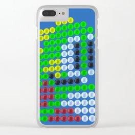 Bubble Bobble bubbles Clear iPhone Case