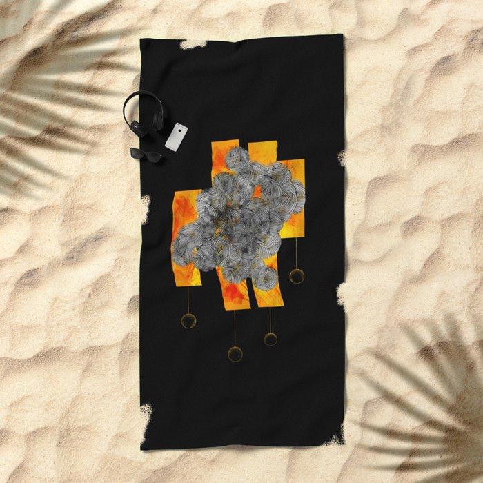 Original mix Beach Towel