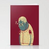 drunk Stationery Cards featuring Drunk by Renato Klieger Gennari