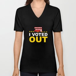 I Voted OUT Unisex V-Neck