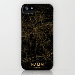 Hamm, Germany - Gold iPhone Case