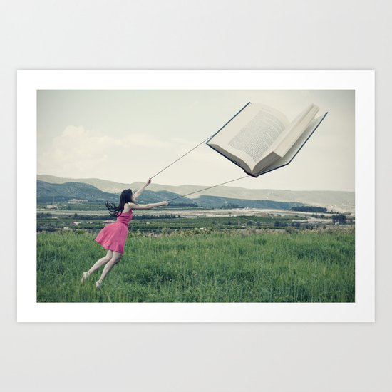 All the beauty of the world Art Print
