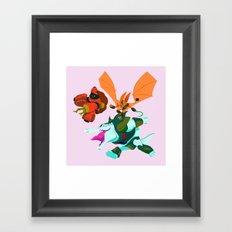 Battle Beasts - Trio 7 Framed Art Print