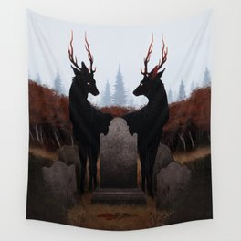 The Mourners Wall Tapestry