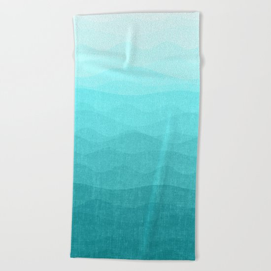 Winter Dreams Beach Towel