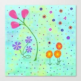 Springtime, original Canvas Print