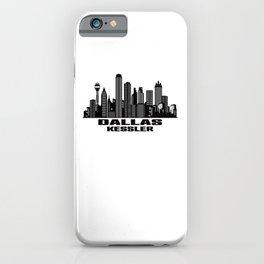 Dallas Kessler Texas Skyline iPhone Case