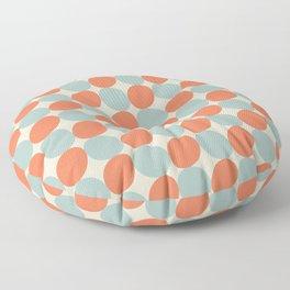 Disco Bar ceramic tile pattern Floor Pillow