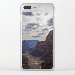 Angel's Landing Clear iPhone Case