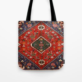 Red & Blue Vintage Bereber Moroccan Bohemian Artwork. Tote Bag