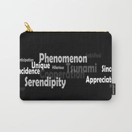 Hard to spell words. Enjoy. Carry-All Pouch