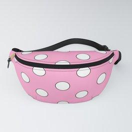 Pink Pastel Polka Dots Fanny Pack