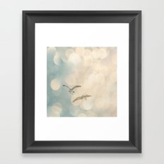 And They Found Love Framed Art Print