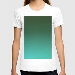 SHADOWS AND COUNTERPARTS - Minimal Plain Soft Mood Color Blend Prints T-shirt