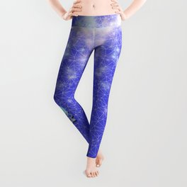 Women From the Blue Moon Eclipse Leggings