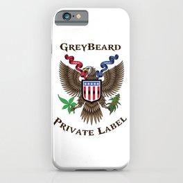 Greybeard Eagle iPhone Case