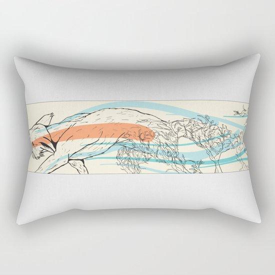 Bramble Fox Rectangular Pillow