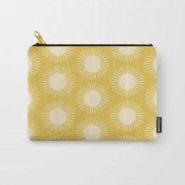 Golden Sun Pattern III Carry-All Pouch