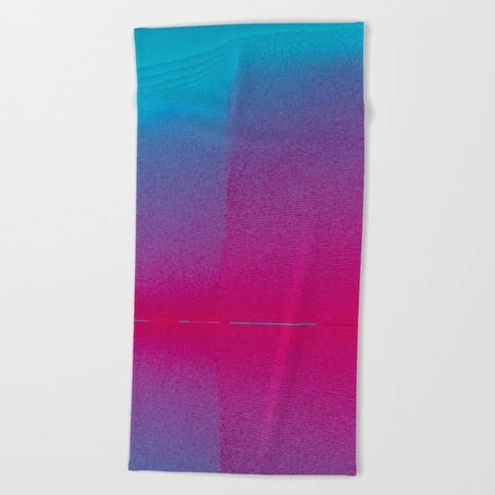 Pink Haze Beach Towel