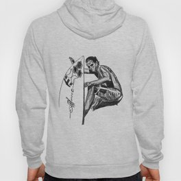 Surfer - Black and White Hoody