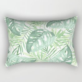Tropical Branches Pattern 03 Rectangular Pillow