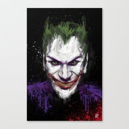 Funniest bad guy Canvas Print