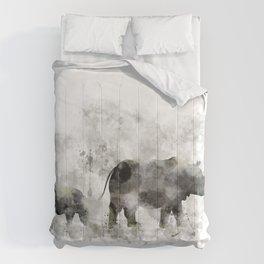 Rhino and Calf Comforters