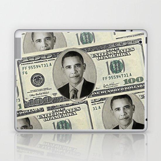 Mr President's Green Laptop & iPad Skin