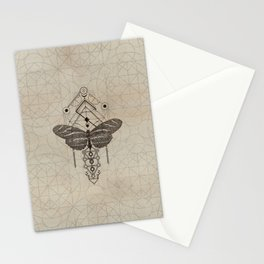 Sacred  Geometry  Zebra Longwing Butterfly Stationery Cards