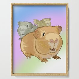 Guinea Pigs Serving Tray