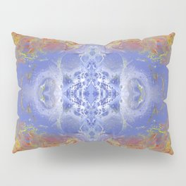 Psycho - Fire surrounding Ice with great depth by annmariescreations Pillow Sham