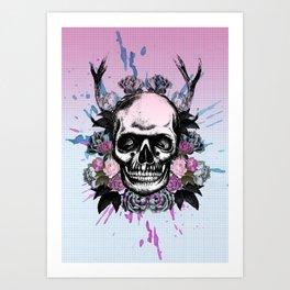 Head Rush 1 Art Print