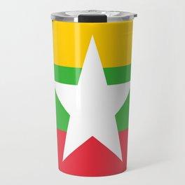 flag of Myanmar Travel Mug