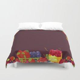 Berries. Sweet summer. Duvet Cover