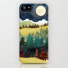 Autumn Moon iPhone Case