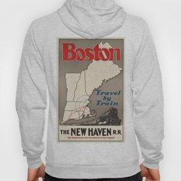 Vintage poster - Boston Hoody