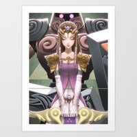 Phantom Princess Art Print