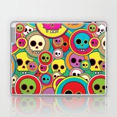 Button Skulls Laptop & iPad Skin