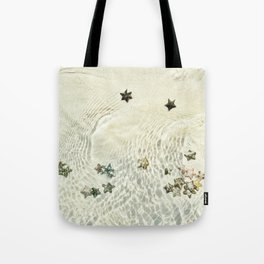 Stars In The Sand Tote Bag