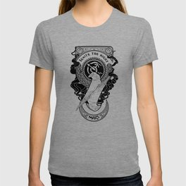 Sailor Mars art Nouveau T-shirt