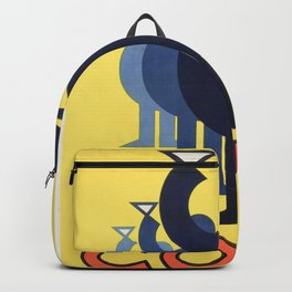 Vintage Vermouth Poster Backpack