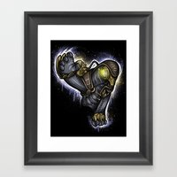 Protector of the Lamb Framed Art Print
