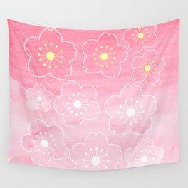 Sakura Bloom Wall Tapestry