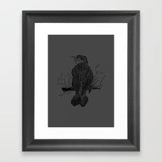 Whitebird Framed Art Print