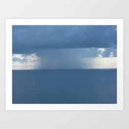 Rainstorm Art Print
