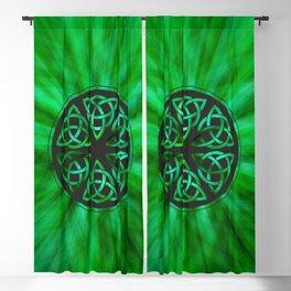 Celtic Knot Star Flower Blackout Curtain